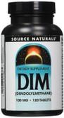 Buy DIM Diindolylmethane 100 mg 120 Tabs, Source Naturals ,Natural Remedy, UK