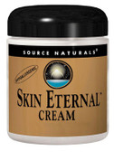 Skin Eternal Cream 2oz (56.7g) Source Naturals, with DMAE, CoQ10, HA