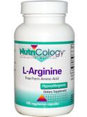 Buy Nutricology L-Arginine 500 mg 100 Caps Online, UK Delivery