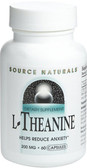 L-Theanine 200 mg 60 Caps Source Naturals