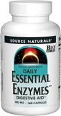 Daily Essential Enzymes 500 mg 360 Caps Source Naturals, Digestive