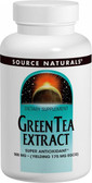 Green Tea Extract 100 mg 120 Tabs Source Naturals