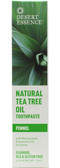Buy Toothpaste Tea Tree Fennel-Propolis 7 oz Desert Essence Online, UK Delivery, Oral Teeth Dental Care Toothpaste