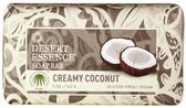 Buy Creamy Coconut Bar Soap 5 oz Desert Essence Online, UK Delivery,