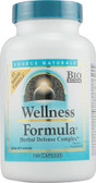 Wellness Formula Herbal Defense Complex 120 Caps Source Naturals, UK Shop