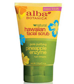 Buy Alba Botanica Hawaiian Pineapple Scrub Pore Purifying 4 oz Online, UK Delivery, Facial Cleansers All Skin Types