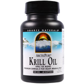 Source Naturals, Arctic Pure Krill Oil 500 mg 60 Softgels, UK Shop