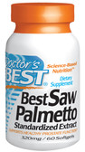 Buy Saw Palmetto Extract 320 mg 60 Softgels Doctor's Best Online, UK Delivery, Men's Supplements For Men Saw Palmetto Prostate Health Formulas