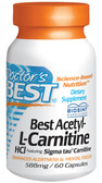 Buy Doctor's Best Acetyl-L-Carnitine 588 mg 60 Caps Online, UK Delivery, Amino Acid
