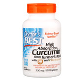 Buy Doctor's Best Curcumin C3 500 mg 120 Caps Immune Health Online, UK Delivery, Antioxidant Curcumin Ayurveda Ayurvedic