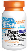 Buy Hyaluronic Acid Chondroitin Sulfate 60 Caps Dr Best Online, UK Delivery, Bone Osteo Collagen Treatment