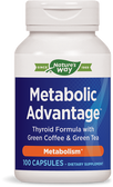 Buy Metabolic Advantage Thyroid 100 Caps Enzymatic/Natures Way Online, UK Delivery, Thyroid Treatment Formulas