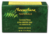 Buy Ultra-Sensitive Soap Cornmeal/Honey 1 Bar Neem Aura Online, UK Delivery, Vegan Cruelty Free Product