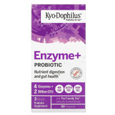 Kyo-Dophilus with Enzymes (Heat Stable Probiotic) 60 Caps Kyolic, UK Store