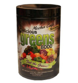 Buy Greens World Inc Delicious Greens 8000 Mocha Cafe Flavor 10.6 oz Online, UK Delivery, Hydrilla Verticillata Greens