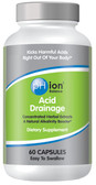 Buy Acid Drainage 60 Caps Phion Balance Online, UK Delivery, pH Balance Supplements Alkaline Treatment Remedy