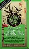 Decaf Green Tea 20 Bags, Triple Leaf Tea