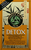 Detox Tea 20 Bags, Triple Leaf Tea