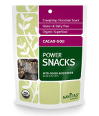 Buy Org Goji Cacao Power Snacks 8 oz Navitas Naturals Online, UK Delivery, Mixed Nuts Trail Mix Vegan Food