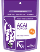 Buy Organic Acai Powder Freeze Dried 4 oz Navitas Naturals Online, UK Delivery