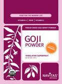 Buy Goji Powder 8 oz Navitas Naturals Online, UK Delivery, Super Fruits Extract Non-GMO