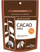 Buy Organic Cacao Nibs 8 oz Navitas Naturals Online, UK Delivery