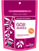 Organic Goji Berries, 8 oz, Navitas