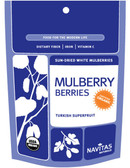 Buy Organic Mulberries 8 oz Navitas Naturals Online, UK Delivery, Vegan Food