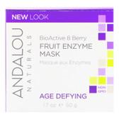 Buy BioActive 8 Berry Fruit Enzym Mask 1.7 oz Andalou Online, UK Delivery, Vegan Cruelty Free Product Facial Manuka Honey Skin Care
