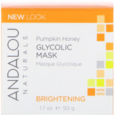 Buy Pumpkin Glycolic Brightening Mask 1.7 oz Andalou Online, UK Delivery, Vegan Cruelty Free Product Facial Manuka Honey Skin Care