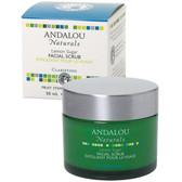 Buy Lemon Sugar Facial Scrub 1.7 oz Andalou Online, UK Delivery, Vegan Cruelty Free Product Facial Manuka Honey Skin Care