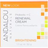 Buy Probiotic + C Renewal Cream 1.7 oz Andalou Online, UK Delivery, Facial Creams Lotions Serums