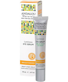 Buy Luminous Eye Serum .6 oz Andalou Renew & Repair Online, UK Delivery, Eye Creams Lotions Serums