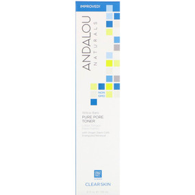 Buy Pore Minimizer Aloe + Willow Bark 6 oz Andalou Online, UK Delivery, Vegan Cruelty Free Product Combo to Oily Skin Type