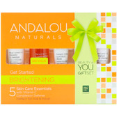 Buy Get Started Brightening Kit 5 PC Andalou Online, UK Delivery, Night Creams Vegan Cruelty Free Product