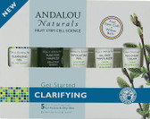 Buy Get Started Clarifying Kit 5 PC Andalou Online, UK Delivery, Night Creams Vegan Cruelty Free Product