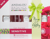 Buy 1000 Roses Get Started 5 Piece Kit Andalou Sensitive Online, UK Delivery, Night Creams