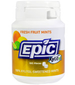 Buy Fresh Fruit Xylitol Mints 180 ct Epic Xylitol Online, UK Delivery