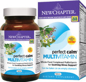 Buy Perfect Calm Multivitamin 144 Tabs New Chapter Organic Online, UK Delivery, Stress Relief anxiety relievers Mood Support Supplements