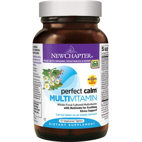 Buy Perfect Calm Multivitamin 72 Tabs New Chapter Organic Online, UK Delivery