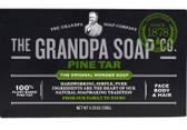 Buy Pine Tar Soap Bath Size 4.25 oz Grandpa's Brands Online, UK Delivery