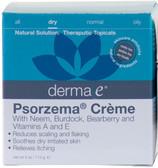 Psorzema Cream 4 oz (113 g), Derma E, Scaling, Flaking & Itching