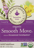 Buy Organic Smooth Move Tea 16 Bags, Traditional Medicinals, Laxative ,Natural Remedy, UK