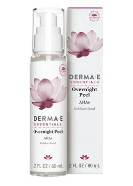 Evenly Radiant Overnight Peel 2 oz Derma E Exfoliant