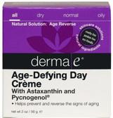 Buy Age Defying Day Creme with Astazanthin & Pycnogenol 2 oz Derma E Online, UK Delivery, Wrinkle Lotions Serums Creams