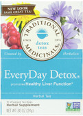 Buy Everyday Detox Tea 16 Bags, Traditional Medicinals, Healthy Liver ,Natural Remedy, UK