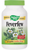 Buy Nature's Way Feverfew 100 Caps Migraines Online, UK Delivery
