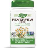Buy Nature's Way Feverfew 100 Caps Migraines Online, UK Delivery