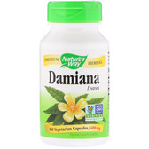 Buy Nature's Way, Damiana Leaves 400 mg 100 Caps