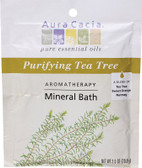 Buy Aromatherapy Mineral Bath Purifying Tea Tree 2.5 oz Aura Cacia Online, UK Delivery, Bath Salts